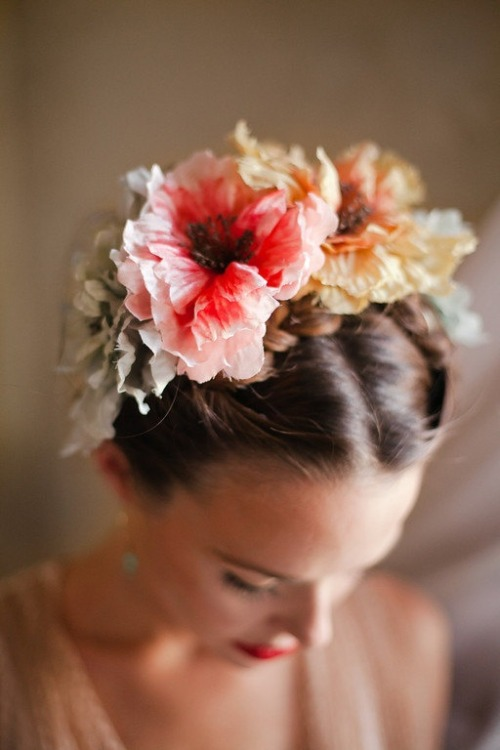 thebohemianmuse:  Flower Crown