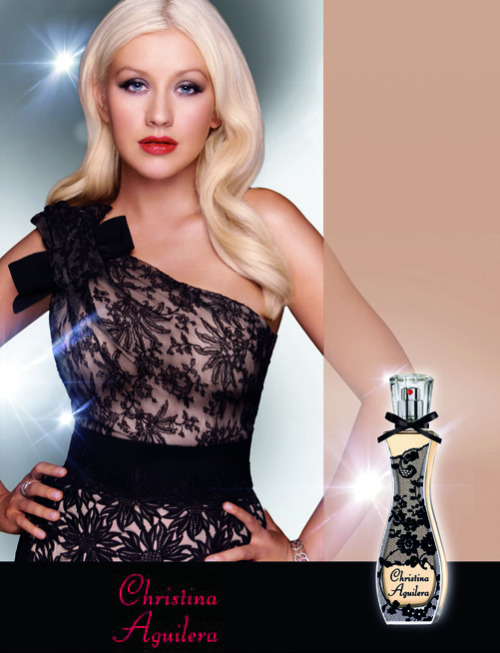 "Christina Aguilera ""Secret Potion"" perfume ad"
