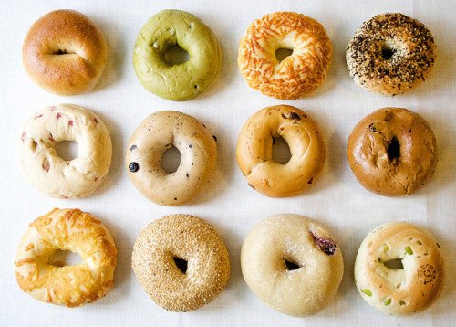 marisais:  bagel by mitayuu on Flickr.
