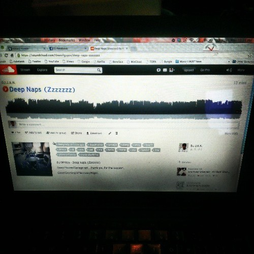 New set up on my soundcloud…blast that shit!..and another one will be going up as well this weekend. Stay tuned! #personal #music #soundcloud #djmix #djset #deephouse #garage #futurefunk