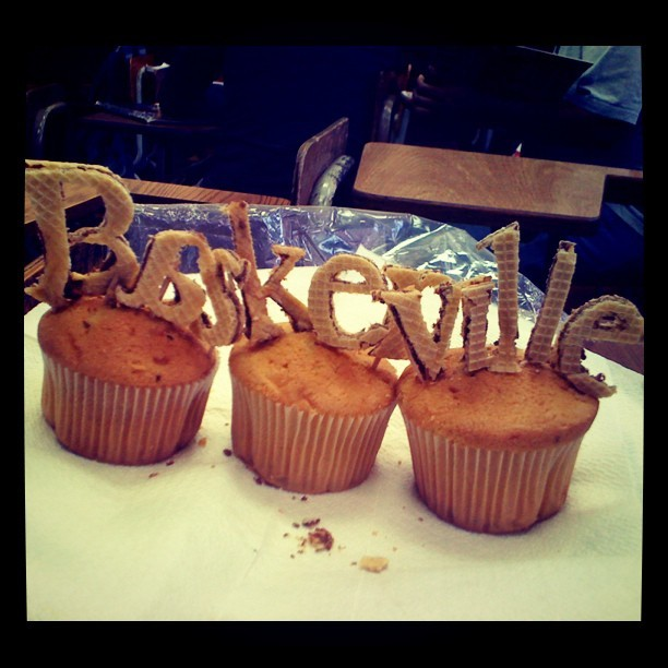 B is for #Baskerville  #muffin #typography #cookie #handmade #day48 #photoaday #design #365photojournal #typo #font