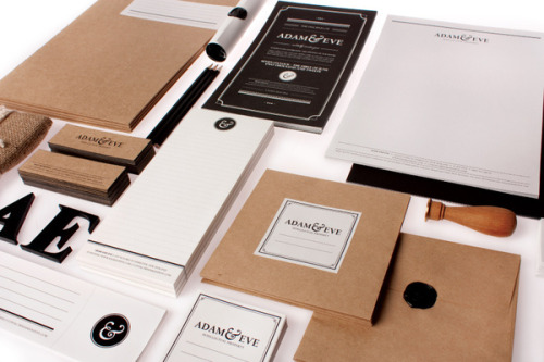 Sophisticated Branding The New York City based graphic designer Raewyn Brandon was hired to created a sophisticated brand identity for Adam & Eve, a group of professionals who share ideas, experience, knowledge, and the understanding and commitment to achieve legal results for their clients. More graphic design inspiration on WE AND THE COLORWATC//Facebook//Twitter//Google+//Pinterest