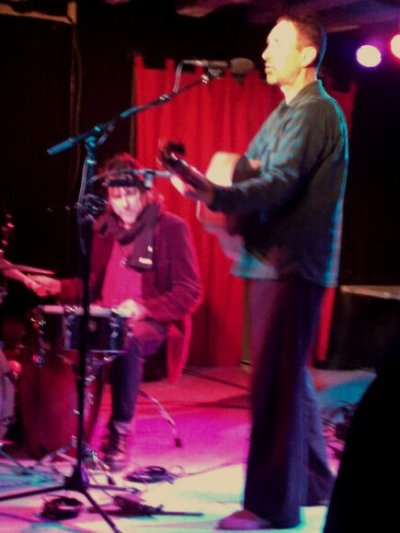 Jonathan Richman and Tommy Larkins live at the Southern, Charlottesville, VA.