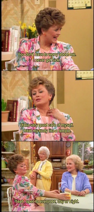 goldengirlsrose:  Open 24/7!