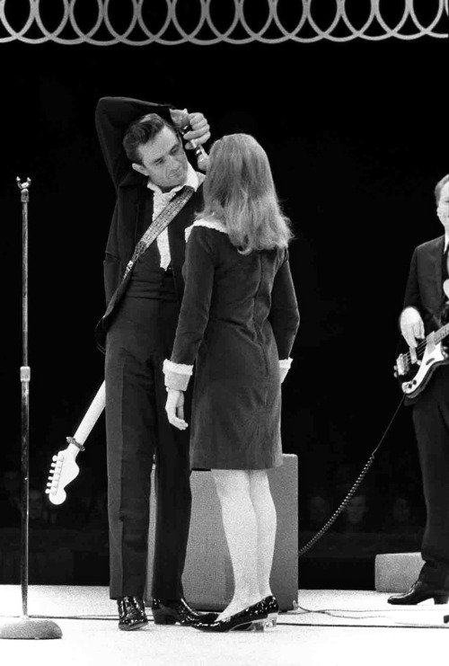 Baron Wolman - Johnny and June Cash, 1967.