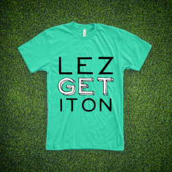 boboacademy:  LEZ GET IT ON :: BOBO ACADEMY TEE  Click here