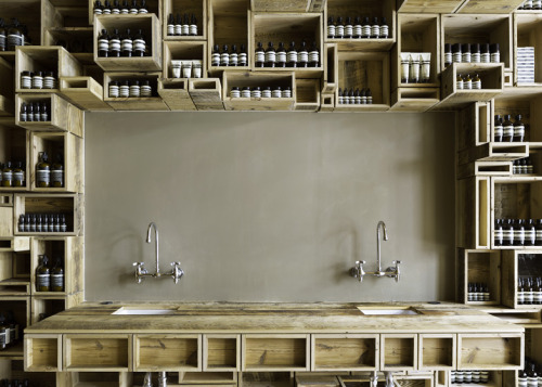 yellowtrace:  Aesop Fillmore Street, San Francisco by NADAAA.