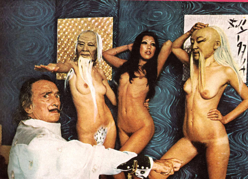 Salvador Dalí in Playboy Magazine (1973)