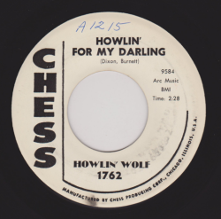 "Howlin' Wolf ""Howlin' For My Darling"" / ""Spoonful"" Promo Single - Chess Records, US (1961)."
