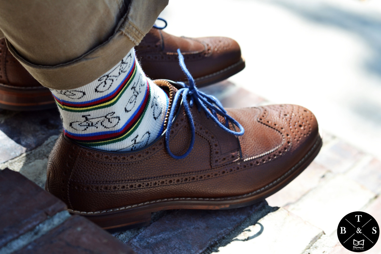 Socks and Brogues…. www.BowTiesAndSneakers.com
