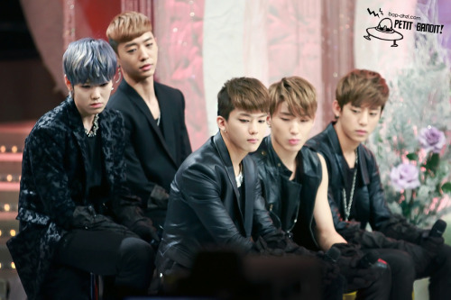 Petit Bandit! | Do not edit.  uri B.A.P, why they look so mong =))