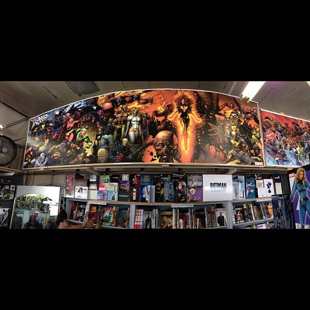 X-Men poster. #Marvel #xmen (at DreamWorld Comics)