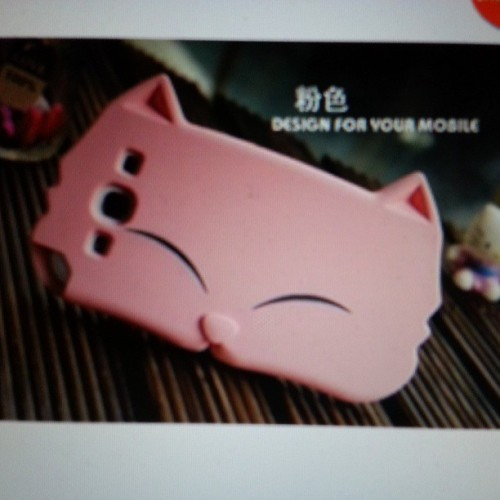 SO cuteeeeee #phonecase #galaxys3 #cat #everythingcat 👍 😸
