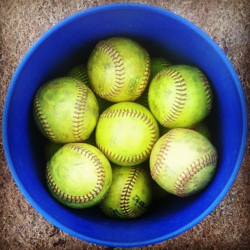 softball tournament in myrtle beach #iphonography #jj #jj_forum #softball #blue #yellow