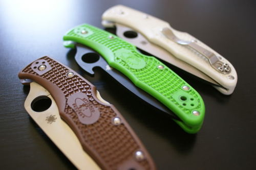 everyday-cutlery:  Spyderco Folders by knifeman
