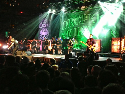Another shot from Fridays Dropkick Murphy's show at The Garden