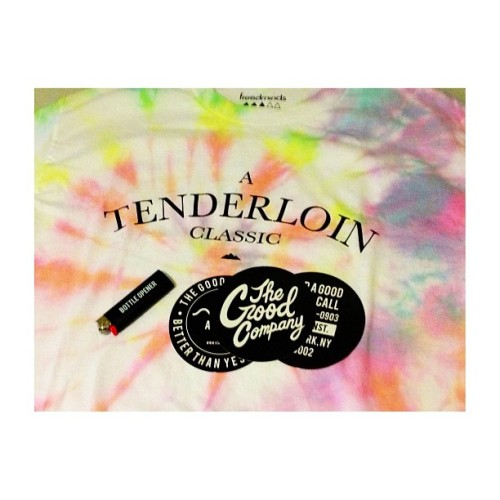 fuctyouth:  Very rare tie dye from NYC c: @thegoodcompany @thefreedminds