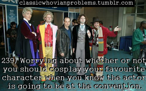 whimsicalspecks:  classicwhovianproblems:  Photo credit (x)  Wow that is a magnificent Three and a glorious Six.