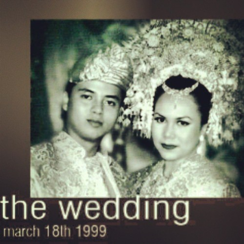 today, years ago.. #wedding #anniversary #black_white #post_pro #family #personal