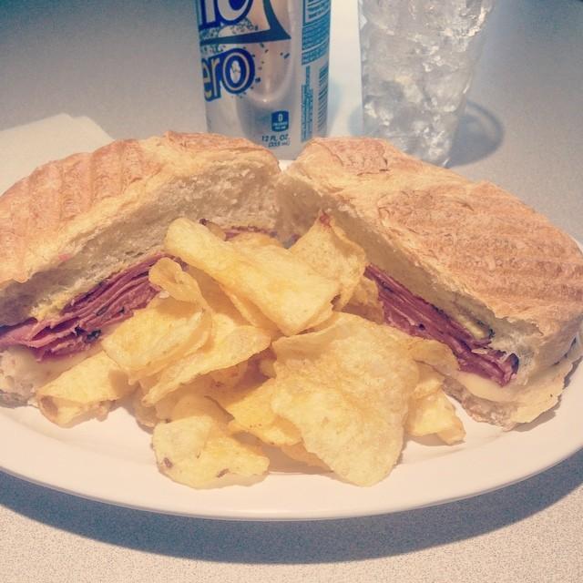 Delicioso Pastrami Sandwich.  (at Clara's)