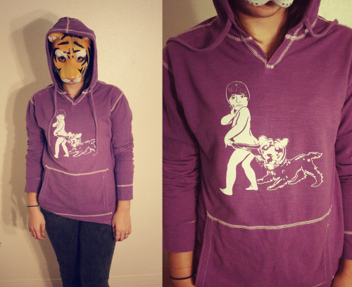 Ta-da. Meet the Coppertone Bieber hoodie. Of course our first piece of merch features Bieber's butt crack. We only made 40, and we are super proud of them. Click here to grab one.