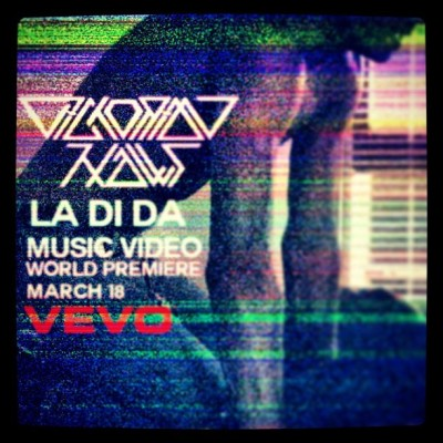 our music video for LA DI DA comes out March 18th. ya dig?