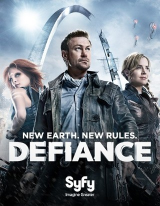 I'm watching Defiance                        92 others are also watching.               Defiance on GetGlue.com