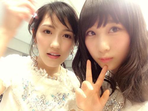 mayuwatanabe: Watanabe Mayu and Takahashi Juri Photo credit https://www.facebook - tumblr_nmybkmLora1qdij7wo1_500