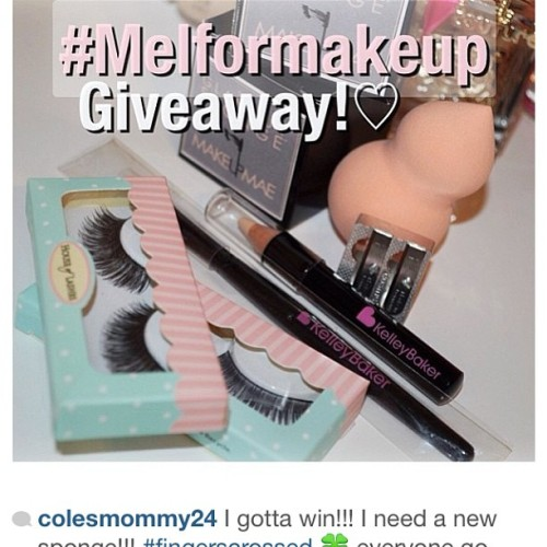 #melformakeup @melformakeup excited