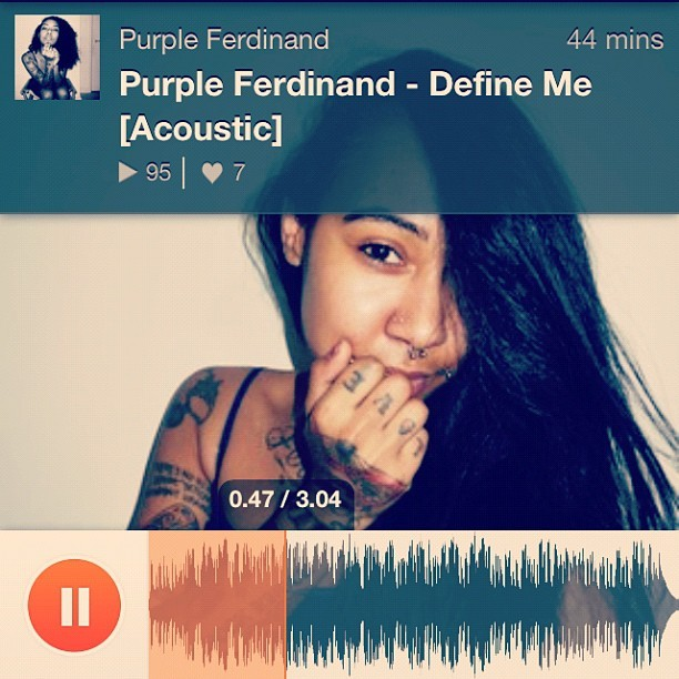 New Tingz from gyal like @purpleferdinand please give it a listen when u get a chance: https://t.co/T6ER8IixEN""