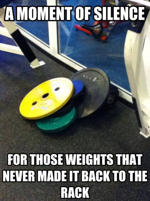 demgainzzz:  Prayer for weights.