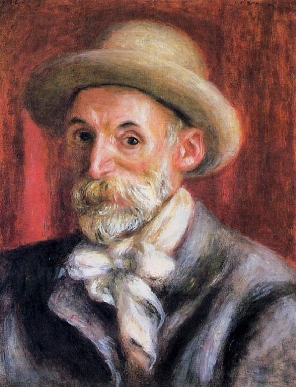 Pierre-Auguste Renoir - Self-portrait, 1910