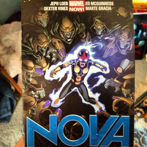 Jeph Loeb is crushing this series. Thank you sir, it's amazing. #nova #marvel #marvelnow #comics #comicbooks #comicbookcrusader