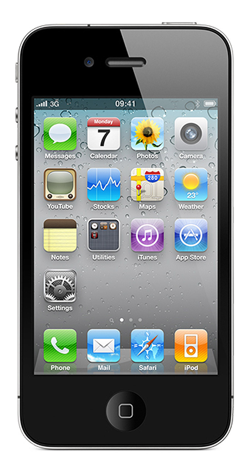 I orderd a Black iPhone 4 16GB. :D