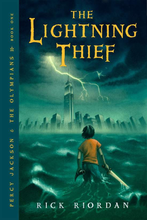 "Currently reading ""The Lightning Thief"" so good."