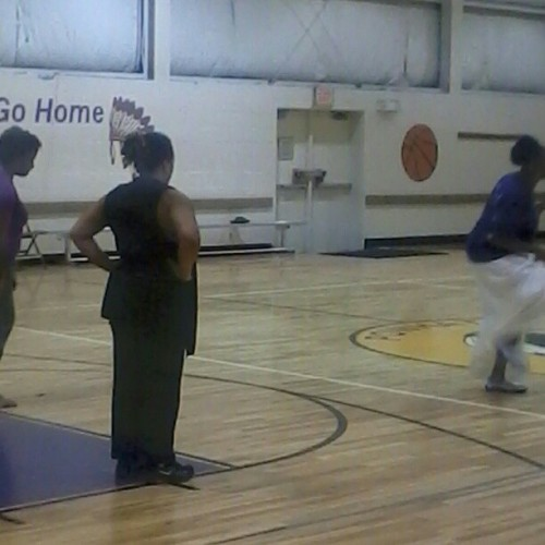 Sista Judy Edwards Dancing for Lupus Awareness. She is a warrior!