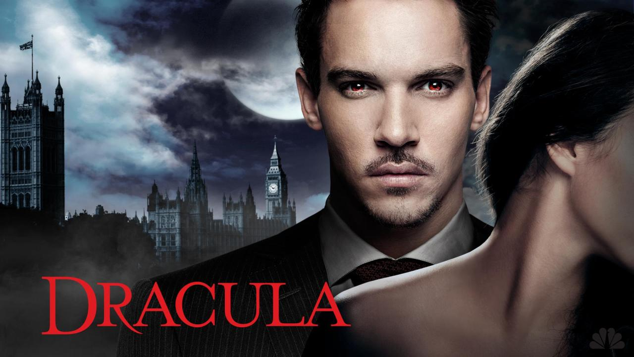 "Golden Globe winner Jonathan Rhys Meyers (""The Tudors"") stars in this provocative new drama as one of the world's most iconic characters. It's the late 19th century, and the mysterious Dracula has arrived in London, posing as an American entrepreneur who wants to bring modern science to Victorian society. He's especially interested in the new technology of electricity, which promises to brighten the night - useful for someone who avoids the sun. But he has another reason for his travels: he hopes to take revenge on those who cursed him with immortality centuries earlier. Everything seems to be going according to plan… until he becomes infatuated with a woman who appears to be a reincarnation of his dead wife. From the producers of the critically acclaimed, Emmy Award-winning hit ""Downton Abbey"" comes ""Dracula,"" a twisted, sophisticated and sexy take on Bram Stoker's classic novel, proving that some stories never die. One-hour drama.  Studio Flame Ventures, Sky Living, Playground Entertainment, Universal Television, NBCUniversal International Television Production, Carnival Film & Television Executive Producer/Writer Dan Knauf (Carnivàle) Co-Executive Producer/Writer Cole Haddon Executive Producers Tony Krantz (24, Sports Night), Colin Callender, Gareth Neame (Downton Abbey) Director (Pilot) Steve Shill (The Tudors, Dexter)"