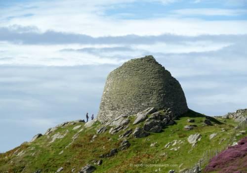 isle of lewis hebrides loch broch carloway scotland