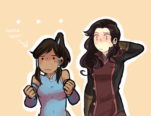 beroberos:  Asami likes you as you are Korra, you don't need to be taller ;D and I know sometimes it's hard to tell, but I really do like Mako.