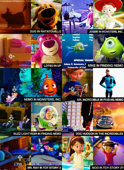 Have you ever noticed these hidden Disney characters in other Disney movies? I never noticed #3! Check them out: