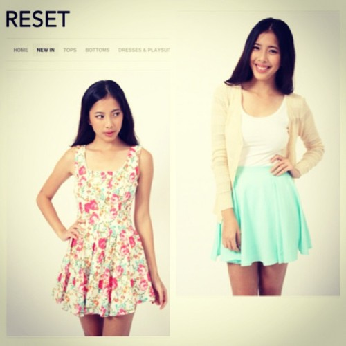 For @shopreset! Haven't been posting pictures in awhile, heehee!