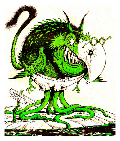Swamp Critter by Ken Reid (1980s)
