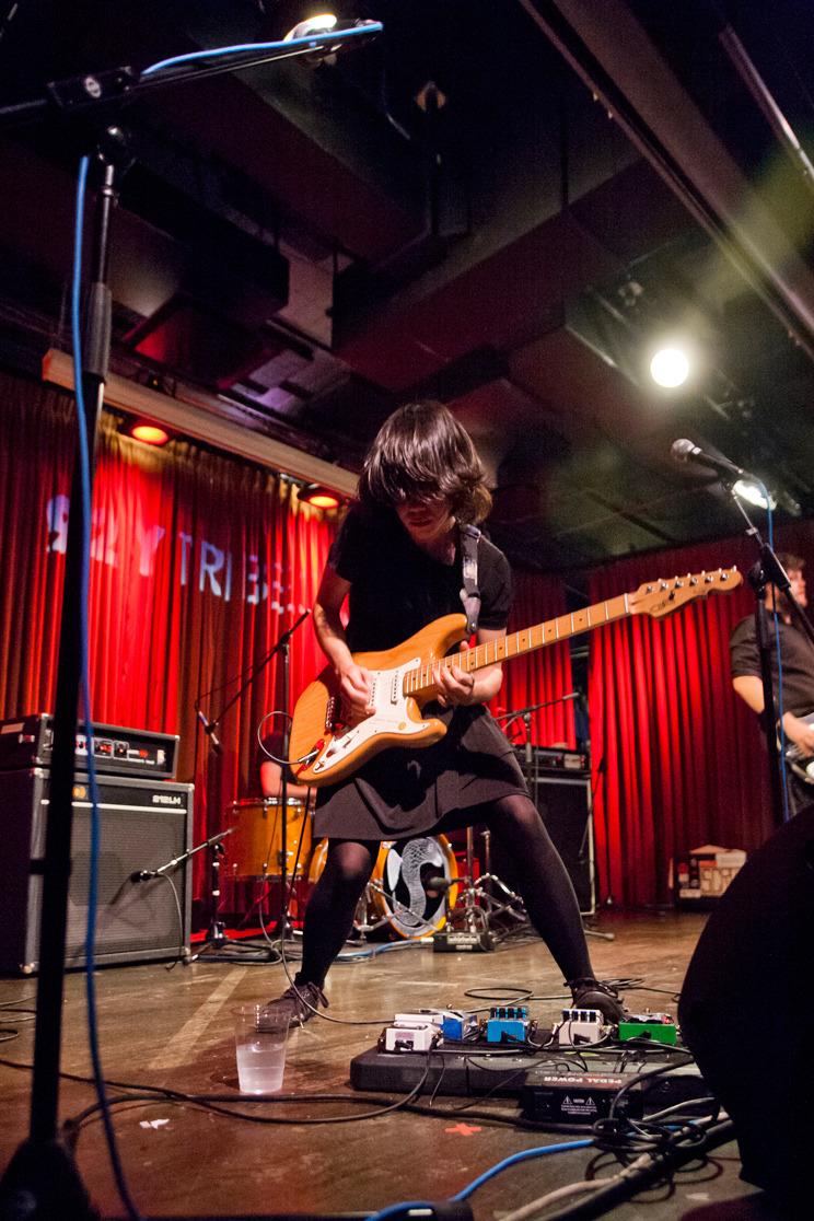 Marissa Paternoster of the Screaming Females - 92YTribeca, NYC - August 17th, 2012 I'm such a lazy framer. Everything is always on the lower half of the frame but this stood out while doing some edits.