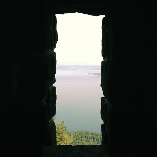 Window (at Mt. Constitution Observation Tower)