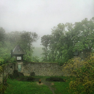 #misty and #rainy morning at the #freusburg in #germany