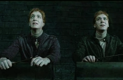 cecilyherendale:  ya meme » four deaths [4/4]  Fred Weasley    And Percy was shaking his brother, and Ron was kneeling beside them, and Fred's eyes stared without seeing, the ghost of his last laugh still etched upon his face.