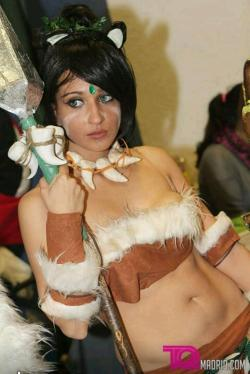 Kass Cabel as Nidalee (League of Legends)