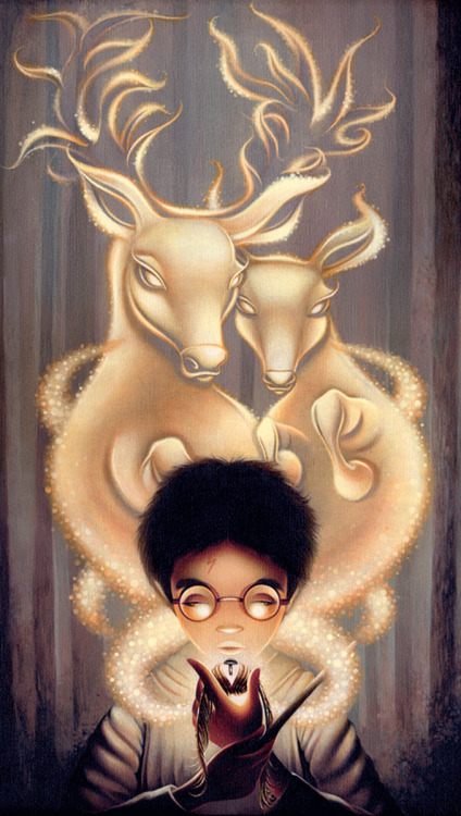 theartofanimation:  Shannon Bonatakis  Harry Potter, Carl and Ellie and Edward Scissorhands… Could this be any more awesome?! Love. Love. Love! :D