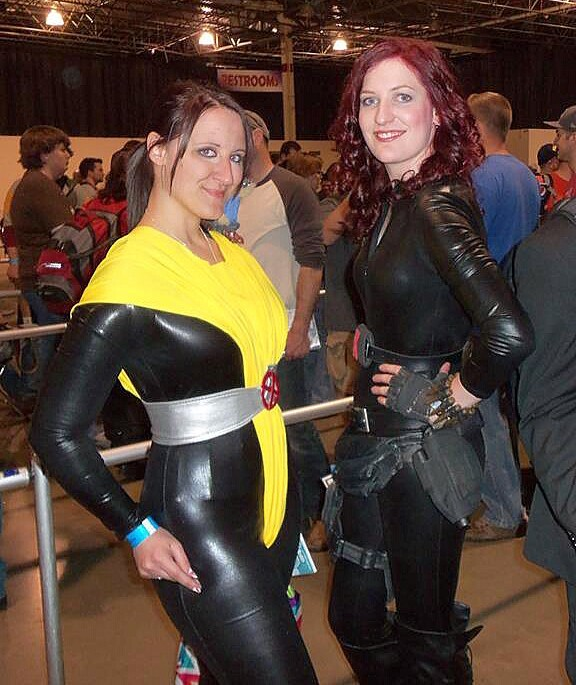 [self] Shadowcat and Black Widow for Motor City Comic Concosplayparadise.net