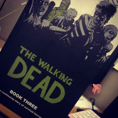 #nowreading The Walking Dead Book Three.